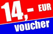 Your 14,- EUR football voucher!