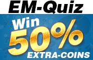Grab fantastic 50% extra coins on the Sexy Quiz today only!