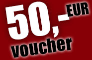 AMAZING: Here is your 50,- EUR voucher for the hottest livecams!