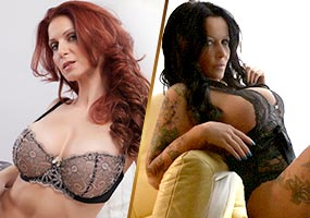 Livegirls KatiePears und Bettie Ballhaus
